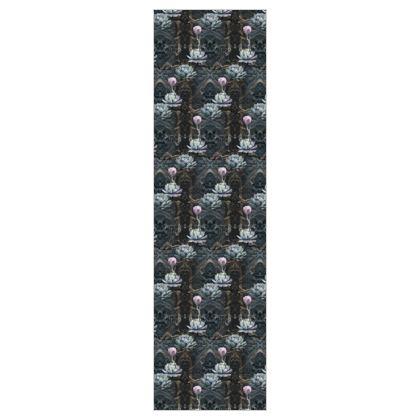 O B S I D I A N - Black - 5m Printed Fabric