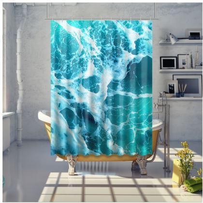 VITAMIN SEA - Shower Curtain