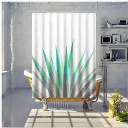 TROPICAL ALLURE - Shower Curtains