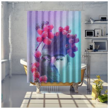 WONDER FRIDA - Shower Curtain