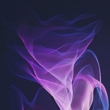 OUT OF THE BLUE  - Espadrilles in Ultra Violet and Purple
