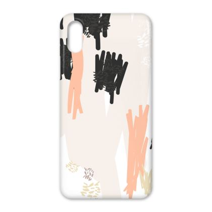 Zippy Abstract Pattern iPhone X Case