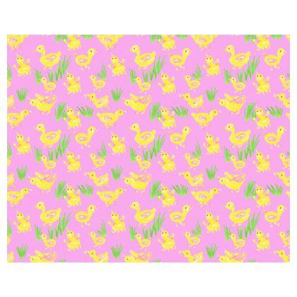 Violet ducks Kimono