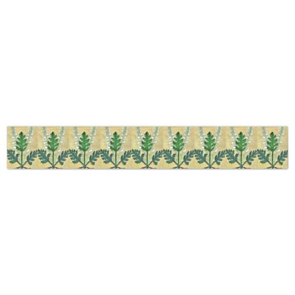 'Acanthus' Wallpaper Border in Cream and Green