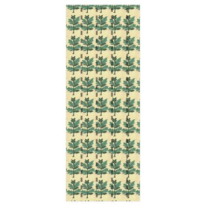 'Vervayne' Wallpaper in Cream and Green