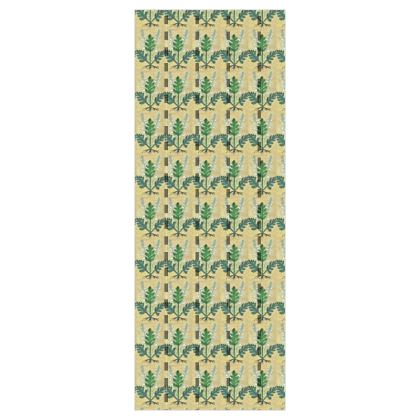 'Acanthus' Wallpaper in Cream and Green