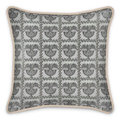 'Roman Mosaic' Silk Cushion