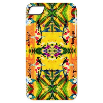 iPhone X-ten in ninibing34 yellow orchid koi