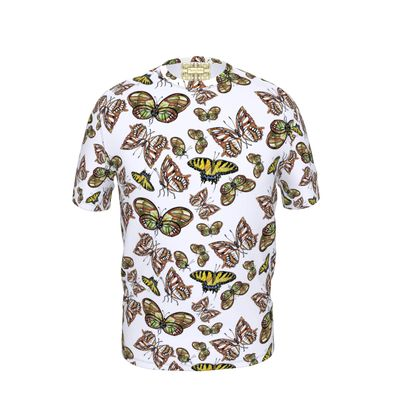 Large butterflies Cut and Sew T Shirt