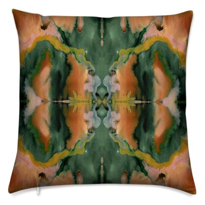RORSCHACH II Velvet Cushion With Contrasting Side