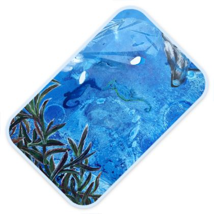 Whale and Seahourse Baby changing mat