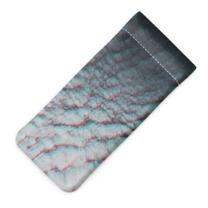 "Glasses Case Pouch ""Clouds in Aspic"""