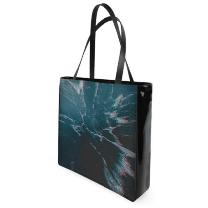"Beach Bag ""Marbled Ice"""