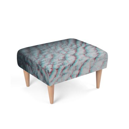 "Footstool ""Clouds in Aspic"""