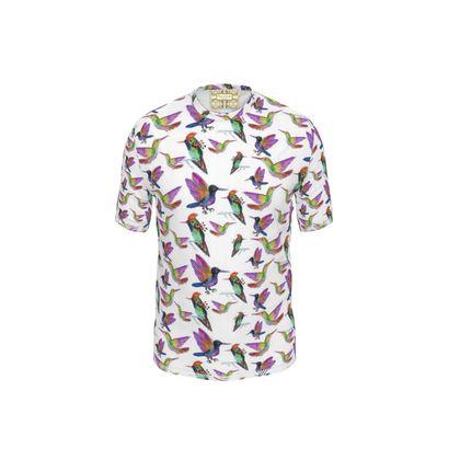 Hammingbirds Cut and Sew T Shirt