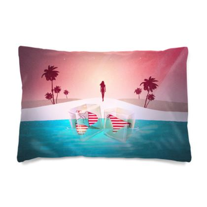 Bikini Beach - Pillow Case