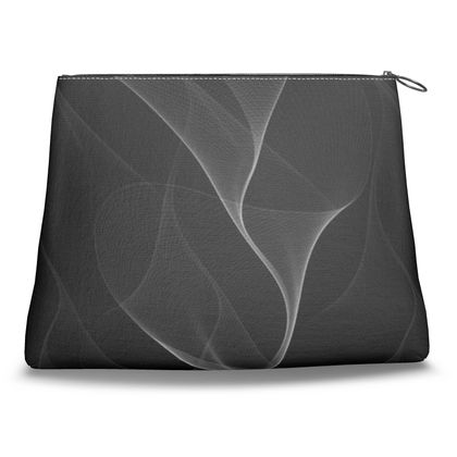 BLACK AND WHITE FLUX - Clutch bag