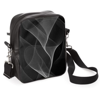BLACK AND WHITE FLUX - Shoulder Bag