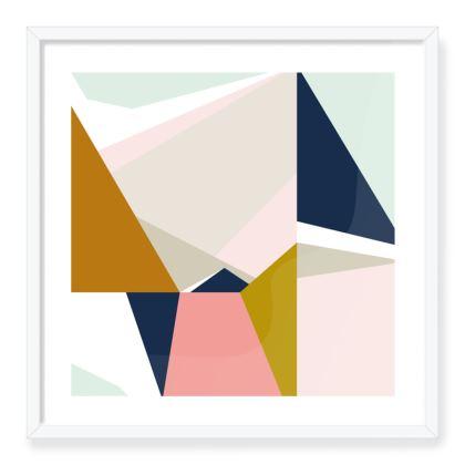Tromso Abstract Art Print