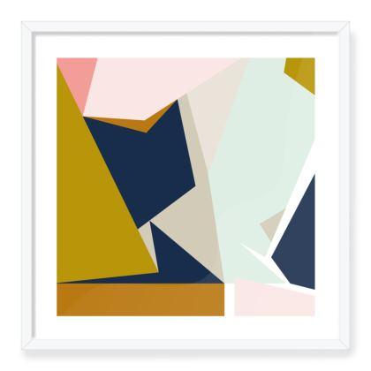 Oslo Abstract Art Print