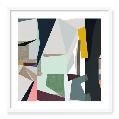 Madrid Abstract Art Print