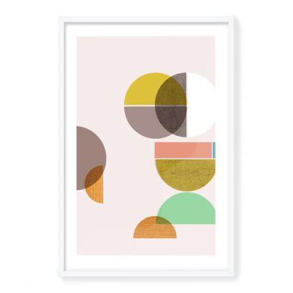 'Number 63' Framed Art Print