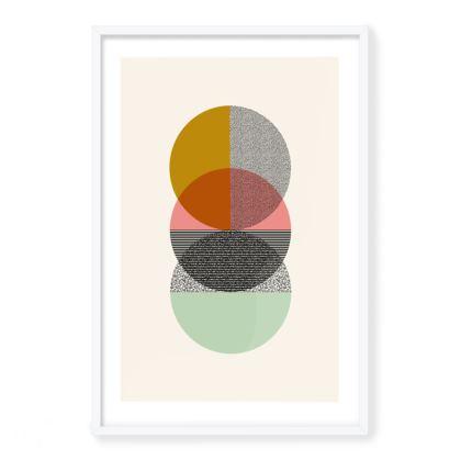 'Stack' Framed Art Print