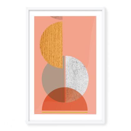 'Number 53' Framed Art Print