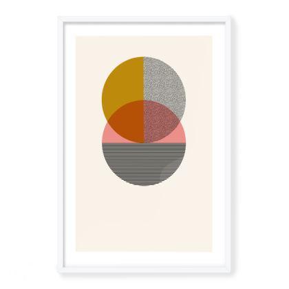 'Twin' Framed Art Print