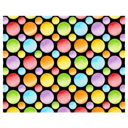 Rainbow Dots and Plaid Espadrilles