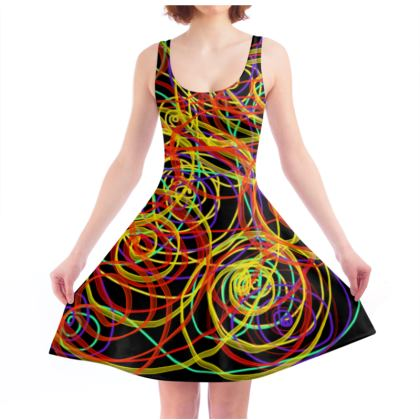 Alive and Free Skater Dress