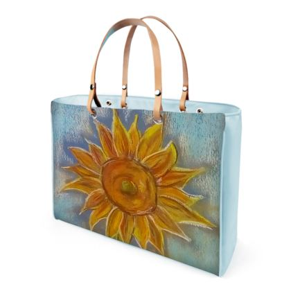 Sunflower pastel Handbags