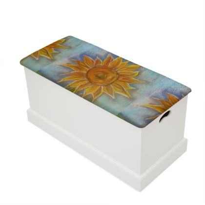 Sunflower Pastels Blanket/Toy Box