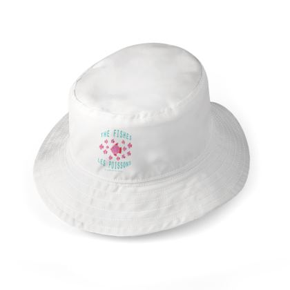 "Bucket Hat ""Les Poissons"""