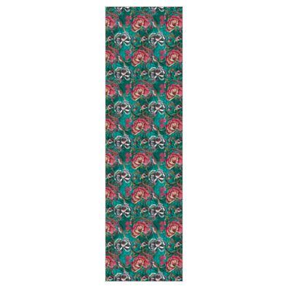 P E O N Y - Jade - 5m Printed Fabric