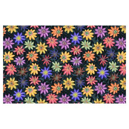Pattern #77 Passion flowers - Zip Top Handbag