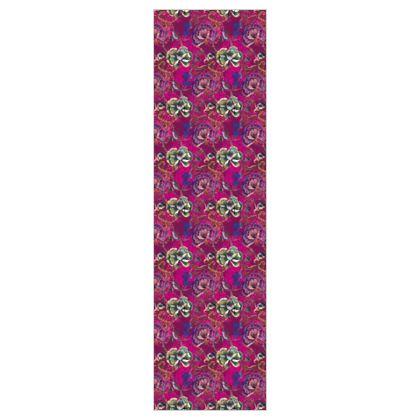 P E O N Y - Pink Mandarine - 5m Printed Fabric