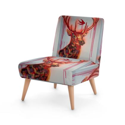 The Deer and the Tiger Occasional Chair