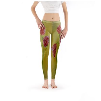 Poppies Leggings Clothes and Accessories