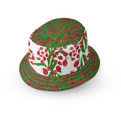 Ladybugs Bucket Hat