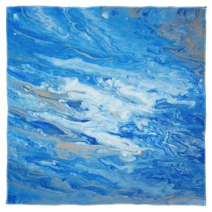 Sea Foam Scarf Wrap or Shawl