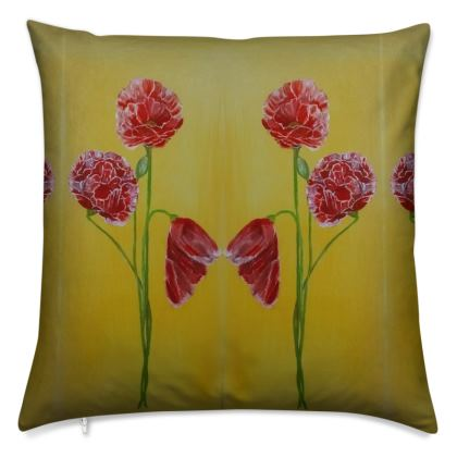 Poppies Luxury Cushions
