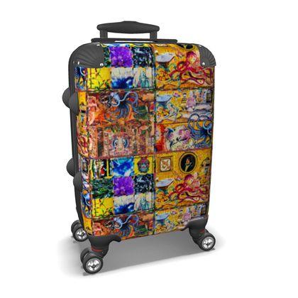Koffer PULPO SCUL Handgepäck, suitcase, cabin luggage