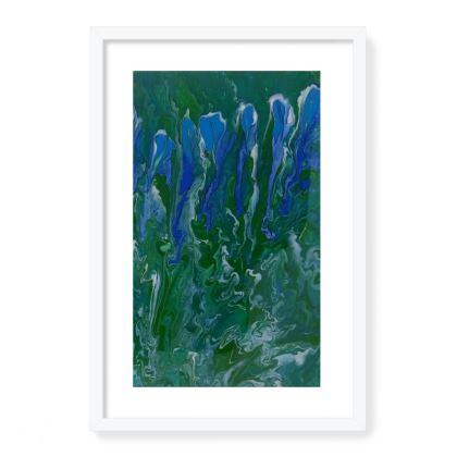 Iris Framed Art Prints