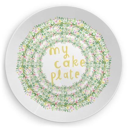 My cake plates