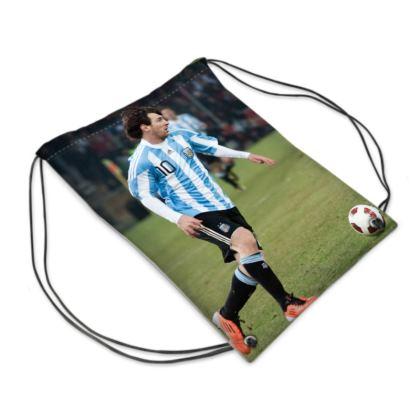 Messi Drawstring PE Bag