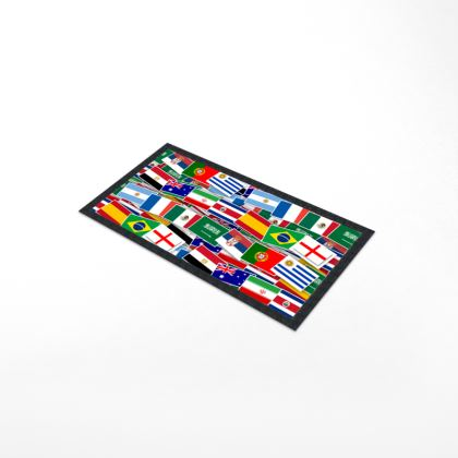 World Cup Bar Runner Mat