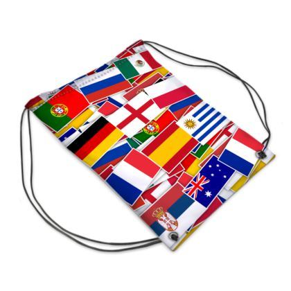World Cup Drawstring PE Bag