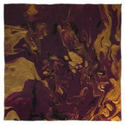 Royal Nebula Scarf Wrap or Shawl