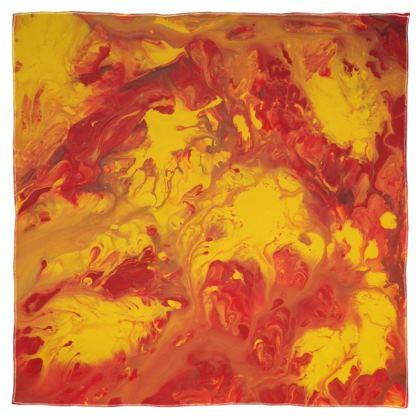 Lava Storm Scarf Wrap or Shawl